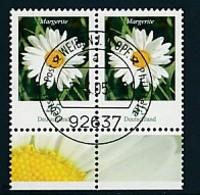 GERMANY Mi.Nr. 2794 Freimarken: Blumen - Paar - ET Weiden - Used - BRD