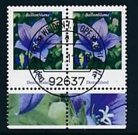 GERMANY Mi.Nr. 2835 Freimarken: Blumen - Paar - ET Weiden - Used - BRD