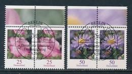 GERMANY Mi.Nr. 2462-2463 Freimarken: Blumen - Paar - ESST Berlin - Used - BRD
