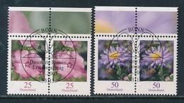 GERMANY Mi.Nr. 2462-2463 Freimarken: Blumen - Paar - ESST Bonn - Used - BRD