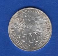 100 Fr  1985 - Francia