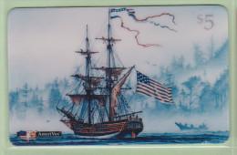 USA - Amerivox - 1994 Phonecard Phair - $5 Lady Washington - AVX-109 - Mint - Stati Uniti