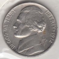 @Y@   United States Of America  5 Cents  1972   (3044 ) - Federal Issues
