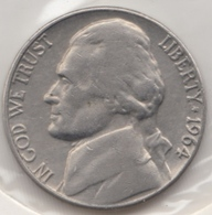 @Y@   United States Of America  5 Cents  1964   (3046 ) - Federal Issues