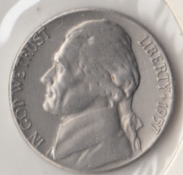 @Y@   United States Of America  5 Cents  1957   (3047 ) - Federal Issues