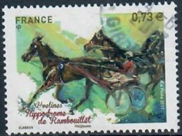 Yt 5158 Hyppodromme De Rambouillet Cachet Rond - France