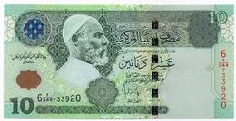 #07. LIBYA. 10 DINAR. 2008.  Pick 70b. SIGN.7. UNC / NEUF - Libya