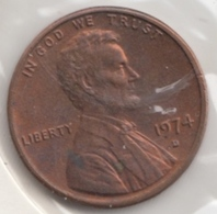 @Y@   United States Of America  1 Cents  1974   (3049 ) - Federal Issues