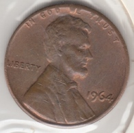 @Y@   United States Of America  1 Cents  1964   (3051 ) - Federal Issues