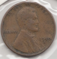@Y@   United States Of America  1 Cents  1950   (3053 ) - Federal Issues