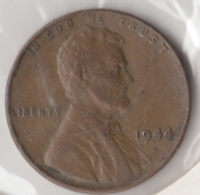 @Y@   United States Of America  1 Cents  1944   (3054 ) - Federal Issues