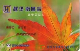 TARJETA DE CHINA. FLORES, (0025) - Flores
