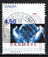 DANIMARCA - 2001 - EUROPA: L'ACQUA RICCHEZZA NATURALE - USATO - Danemark