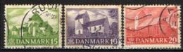 DANIMARCA - 1944 - CHIESE RURALI - USATI - 1913-47 (Christian X)