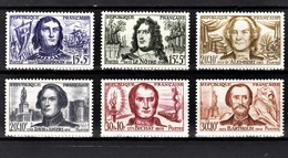 FRANCE 1959 - SERIE Y.T. N° 1207 A 1212  - 6 TP NEUFS** - France