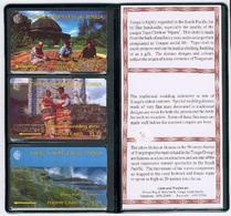 Tonga - 1994 First Issue Set (3) - Mint In Folder - TON-1/3 - Tonga