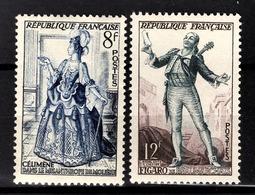 FRANCE 1953 -  Y.T. N° 956 Et 957 - NEUFS** /1 - France