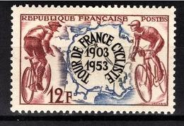 FRANCE 1953 -  Y.T. N° 955 - NEUF** - France
