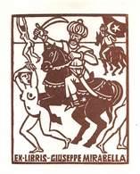 """07697 """"EX LIBRIS GIUSEPPE MIRABELLA"""" ORIG. - Ex Libris"""