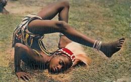 Afrique Africa Petite Danceuse Young Dancer - Afrique