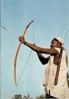 Afrique Africa Chasseur à L'arc Huntsman With His Bow - Afrique