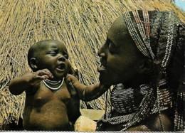Afrique Africa Angola MUHUILAS Sá Da Bandeira Mère Et Bébé Mother And Baby - Afrique