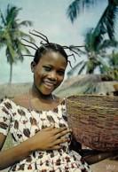 Afrique Africa  Jeune Marchande Young Merchant - Afrique