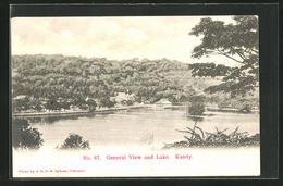 AK Kandy, General View An Lake - Sri Lanka (Ceylon)