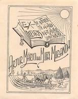 """07698 """"EX LIBRIS ARTUR MARIO DA MOTA MIRANDA"""" ORIG. - Ex Libris"""