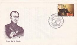 450 ANIVERSARIO DEL NACIMIENTO DEL INCA GARCILASO DE LA VEGA-FDC 1989 LIMA. PERU - BLEUP - Escritores
