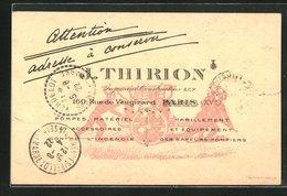 CPA Paris, J. Thirion, 160 Vue De Vaugirard, Feuerlöschpumpe - Ohne Zuordnung