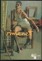 ** VIMENET -- Auto-portrait Au Chiffon Rouge --Huile Sur Toile -- Alger 1954 ** Carte PUB Clermont Ferrand NEUVE - Pintura & Cuadros