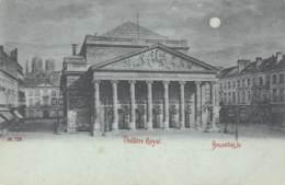 BRUXELLES - Théâtre Royal - Monuments, édifices