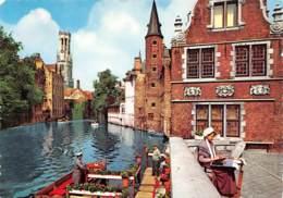 CPM - BRUGGE - Rozenhoedkaai En Belfort - Brugge