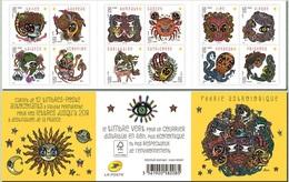 2014-France-Astrological Fairy- Booklet MNH** - Blocs & Feuillets
