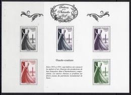 """FR 2015 / BS16+18 """" TRESORS DE LA PHILATELIE-Haute Couture+Languedoc """" ISSU DU 2ème ENSEMBLE DE 10 BF / NEUF RARE / .... - Blocs & Feuillets"""