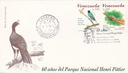 60 AÑOS DEL PARQUE NACIONAL HENRI PITTIER-FDC 1998 CARACAS, VENEZUELA, STAMP A PAIR - BLEUP - Protection De L'environnement & Climat