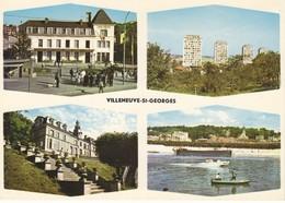 94 Villeneuve Saint Georges Divers Aspects (2 Scans) - Villeneuve Saint Georges