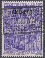 TRIESTE ZONA A - 1950 -  Yvert 70 Usato. - 7. Trieste