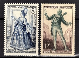 FRANCE 1953 -  Y.T. N° 956 Et 957 - NEUFS** - France