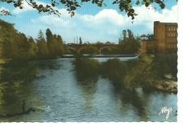 (A) Albias : Rives De L'aveyron - Le Pont Et Le Moulin - Albias