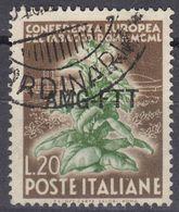 TRIESTE ZONA A - 1950 -  Yvert 80 Usato. - 7. Trieste