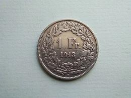 SUISSE    1 Franc  1913  -   Schweiz - Switzerland