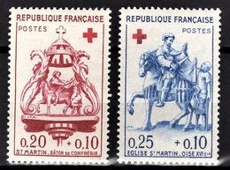 FRANCE 1960 -  SERIE Y.T. N° 1278 Et 1279  - 2 TP NEUFS** /2 - France