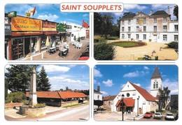 77 Saint Soupplets Divers Aspects (2 Scans) - Francia