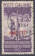 TRIESTE ZONA A - 1950 -  Yvert 73 Usato. - 7. Trieste