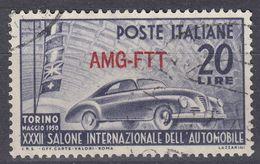 TRIESTE ZONA A - 1950 -  Yvert 67 Usato. - 7. Trieste