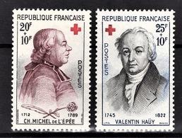FRANCE 1959 -  Y.T. N° 1226 ET 1227  - NEUFS** - France