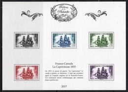 """FRANCE 2017 / BS40+38+39 """"TRESORS DE LA PHILATELIE-la Capricieuse+Rodin+Molière"""" 4ème ENSEMBLE DE 10 BF / NEUF RARE.... - Blocs & Feuillets"""