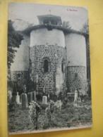L12 8307 - CPA 1910 - 09 L'ARIEGE. FOIX. ABSIDE DE L'EGLISE ROMANE DE ST JEAN DE VERGES, PRES FOIX - CIMETIERE - Francia